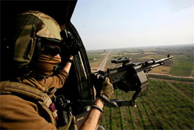 HH-60H door gunner & HH-60H Helicopter | Special Operations