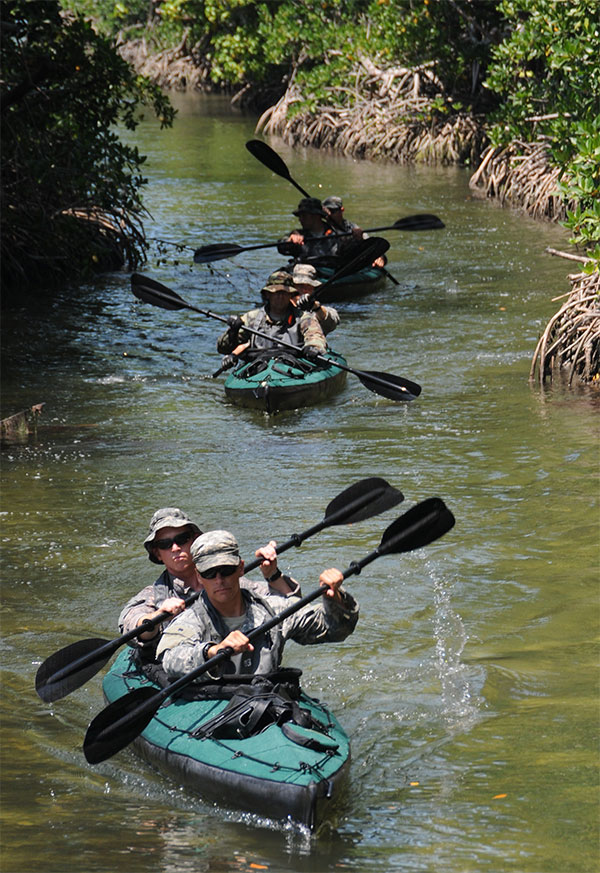 Kayaks | Canoes | Special Operations Forces
