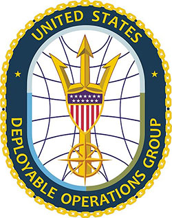 coast guard deployable operations group insignia