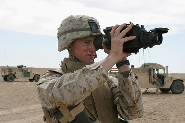 US Marine with PAS-13 thermal sight