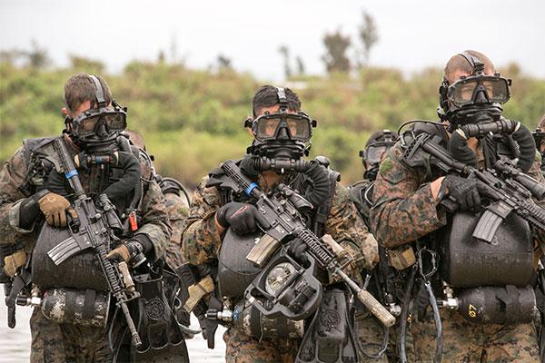 Navy SEAL Diving Gear
