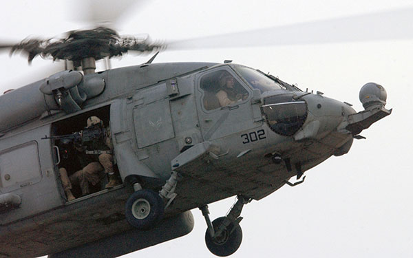 hh-60h seahawk helicopter