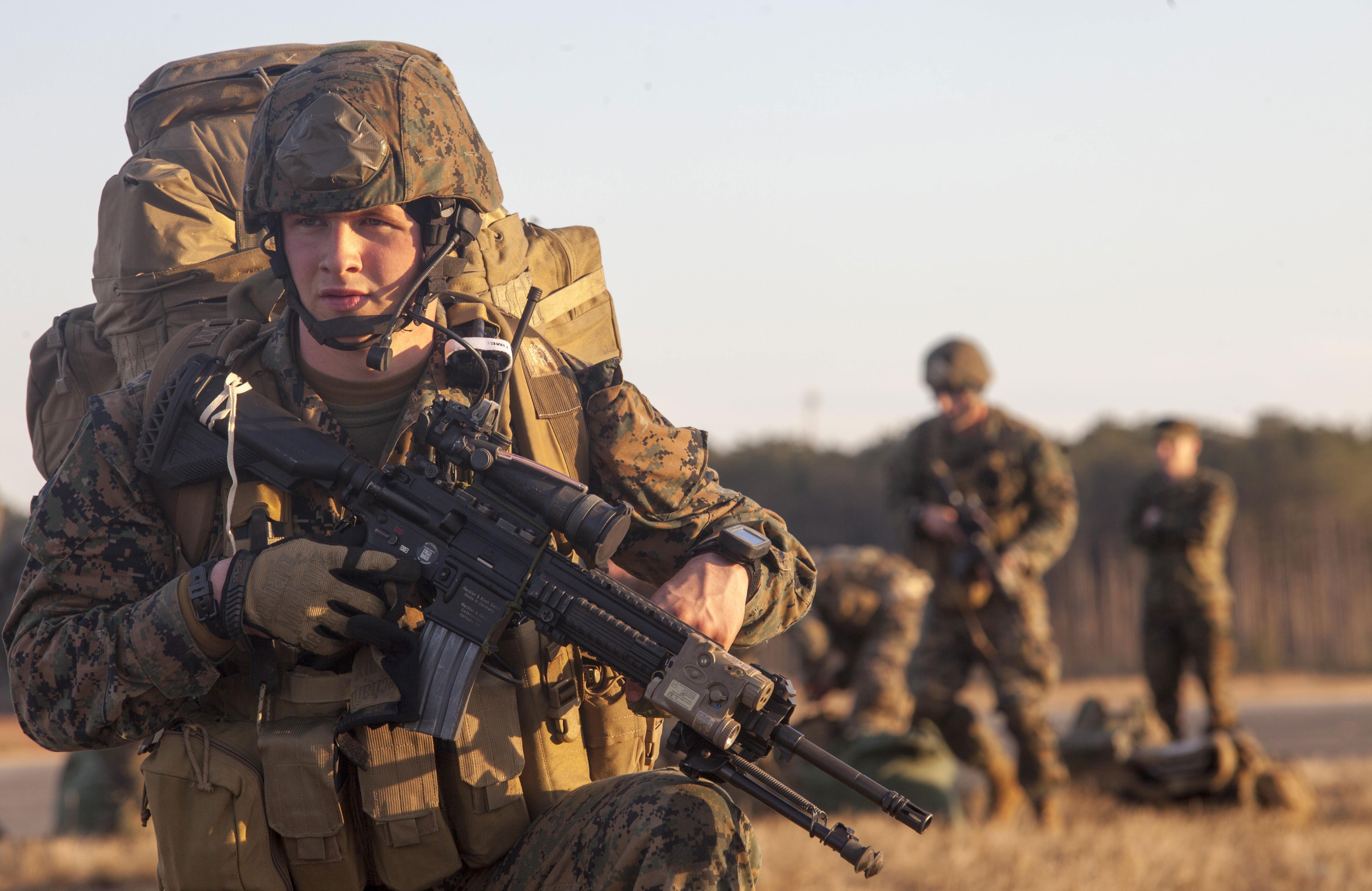 Photo : Force Reconnaissance M27