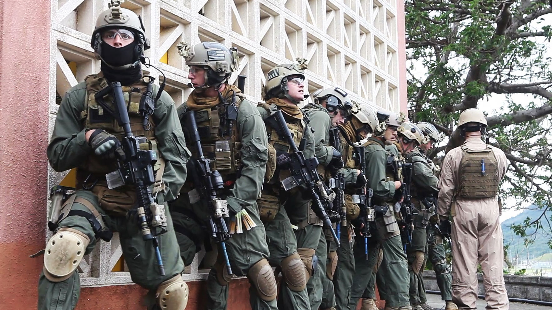 Photo : Force Recon Platoon 31st MEU Marines
