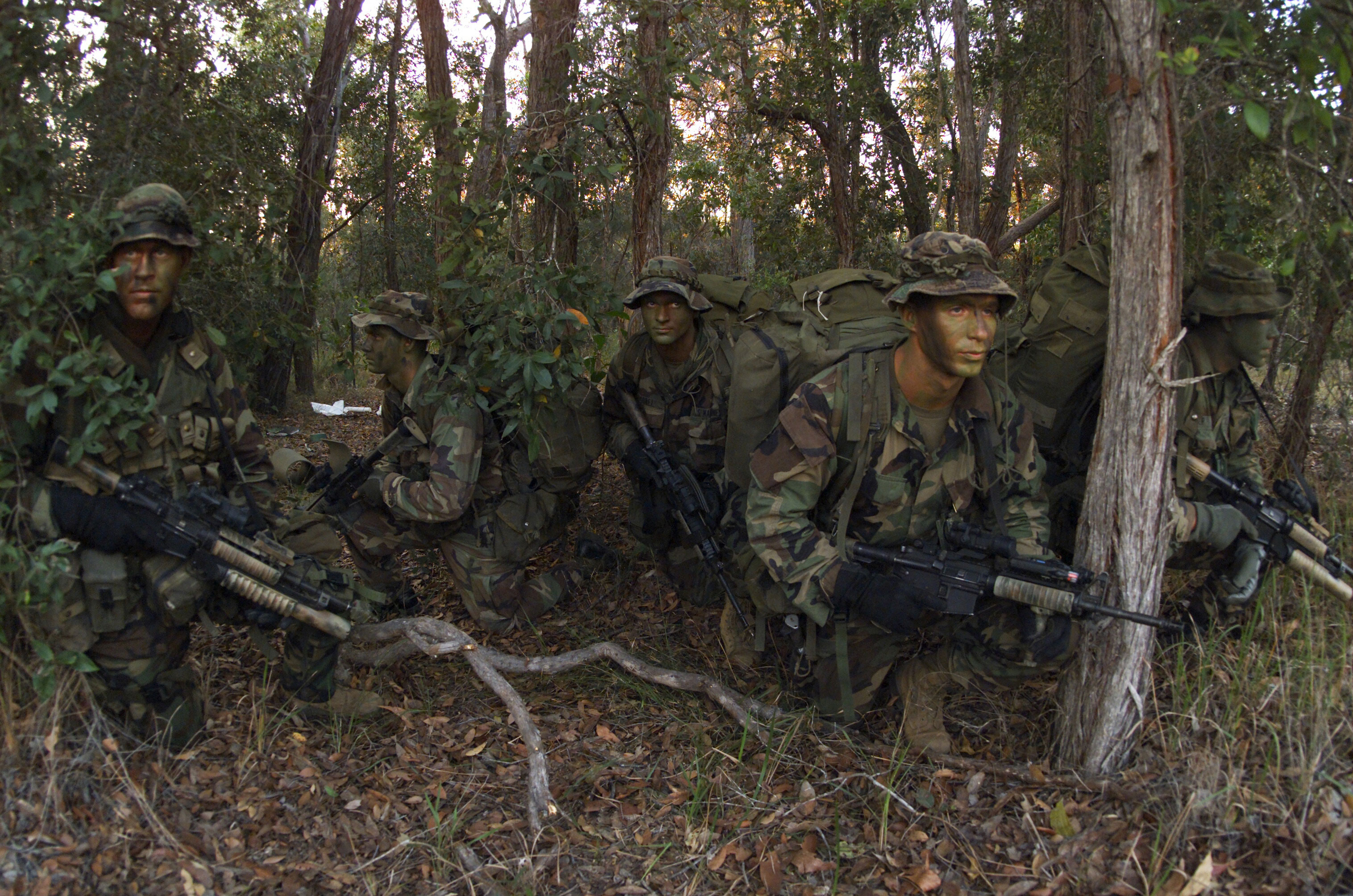 Photo : USMC deep recon platoon