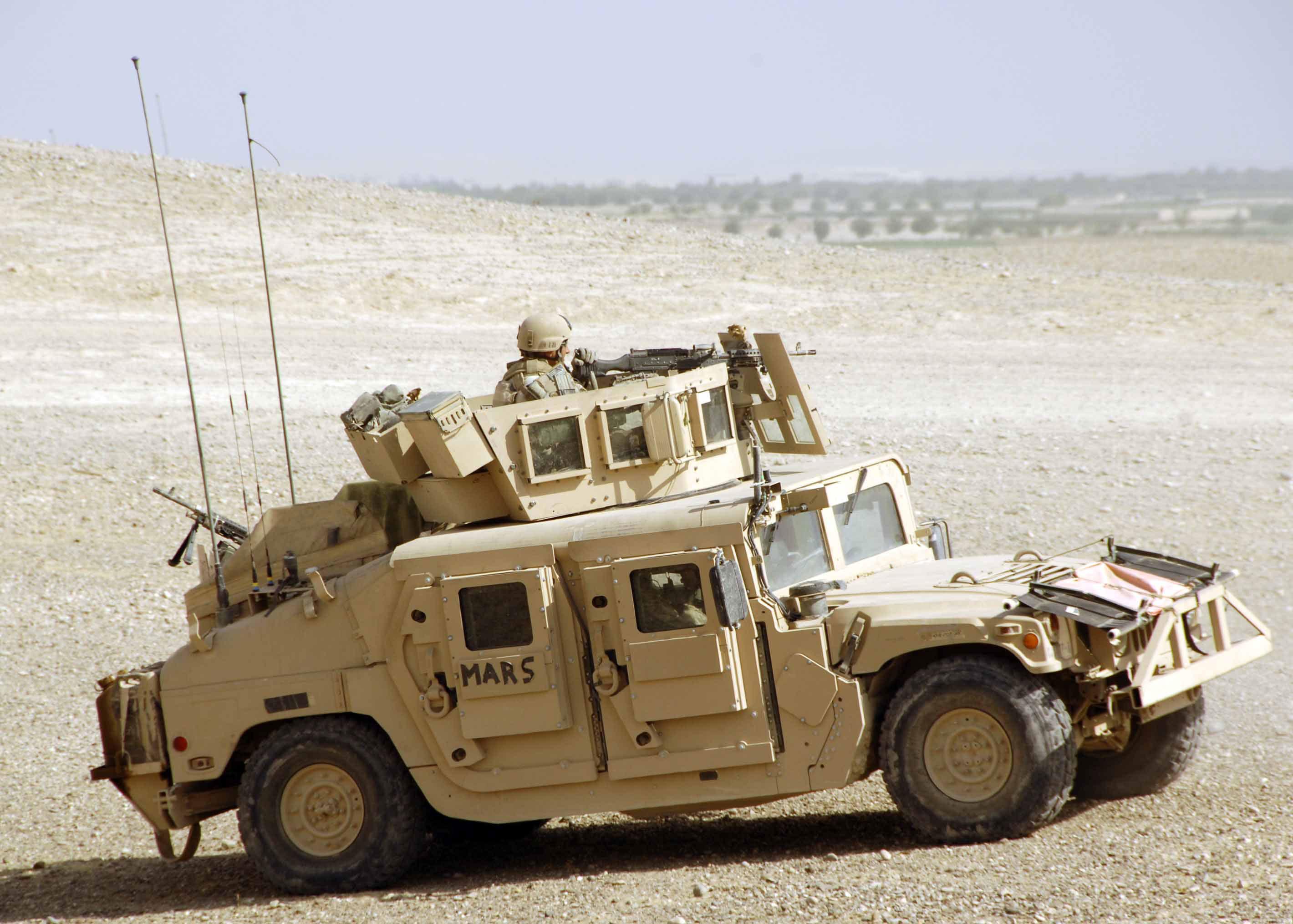 0000845: Up Armored HMMWV's - RHS Feedback