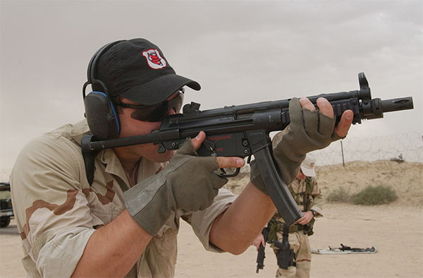 NAVY SEAL with mp5s