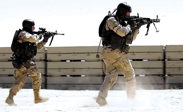 Navy SEALs Combat Search and Rescue