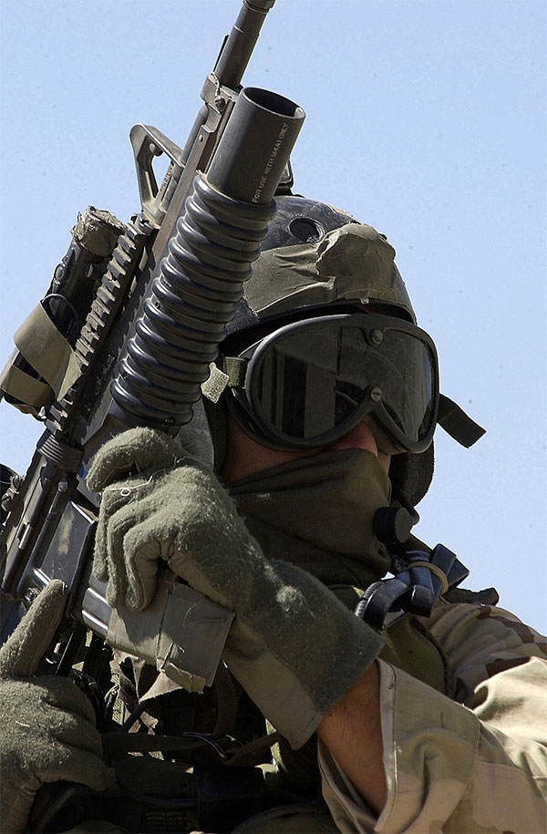 NAVY SEAL with M4A1 Carbine