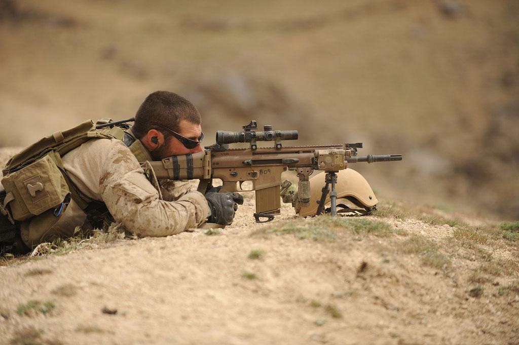 The gallery for --> Us Navy Seal Sniper Rifle