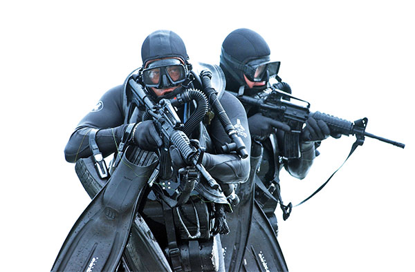 Navy Seal Divers Wetsuits