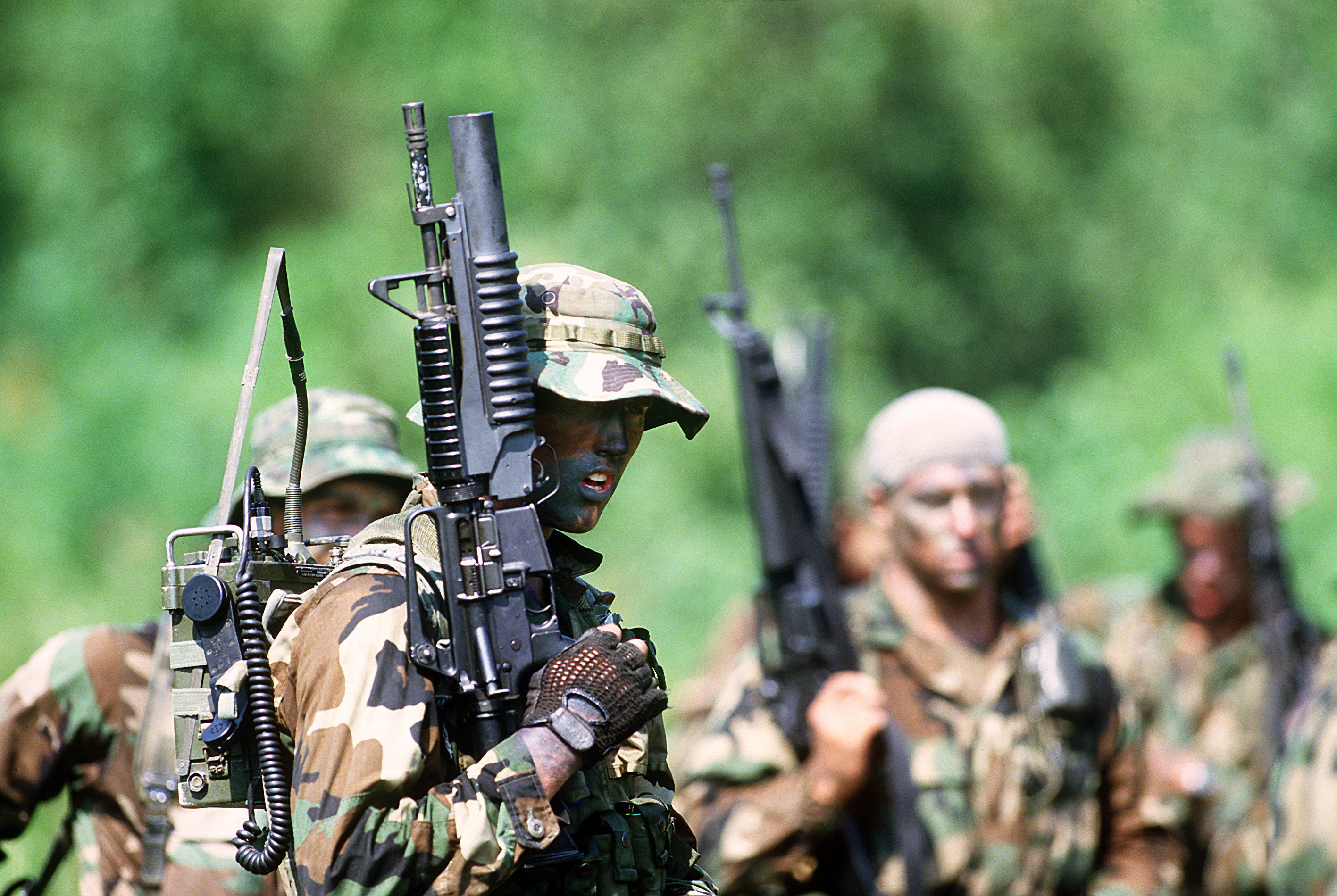 Navy SEALs - Radio Operator - Special Ops Photos
