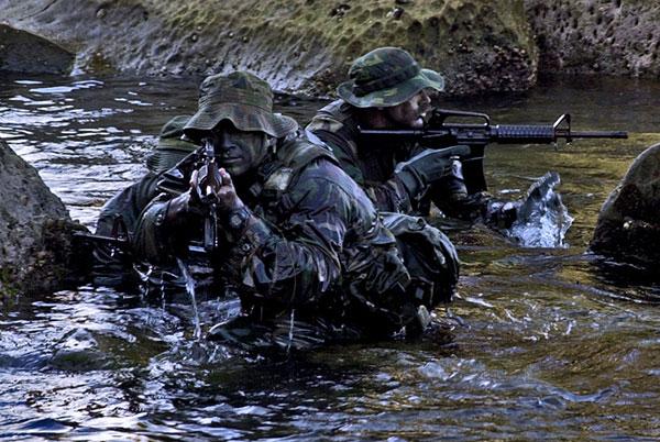 Navy SEALs | Woodland Camoflague