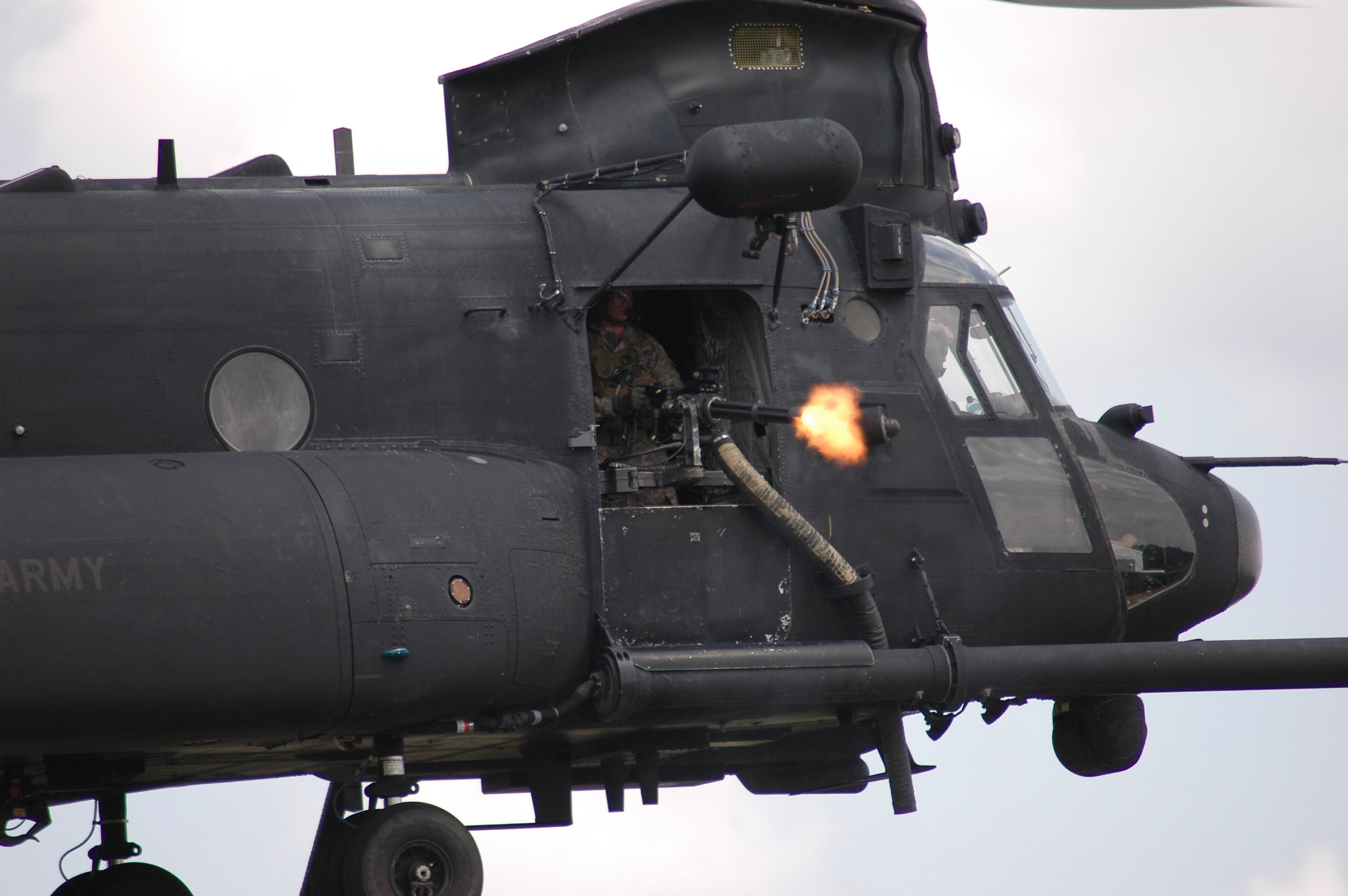 how fast is a chinook helicopter with Chinook Minigun on Russia Mi 26 Helicopter Llft Biggest 2014 5 besides Halo Jump together with 2281241 further Zh896 Uk Air Force Boeing Chinook Hc 2 together with Badass dutch fighter i raise you a badass dutch.
