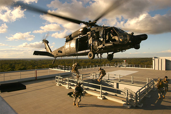 Mh 60 Black Hawk Helicopter Special Operations