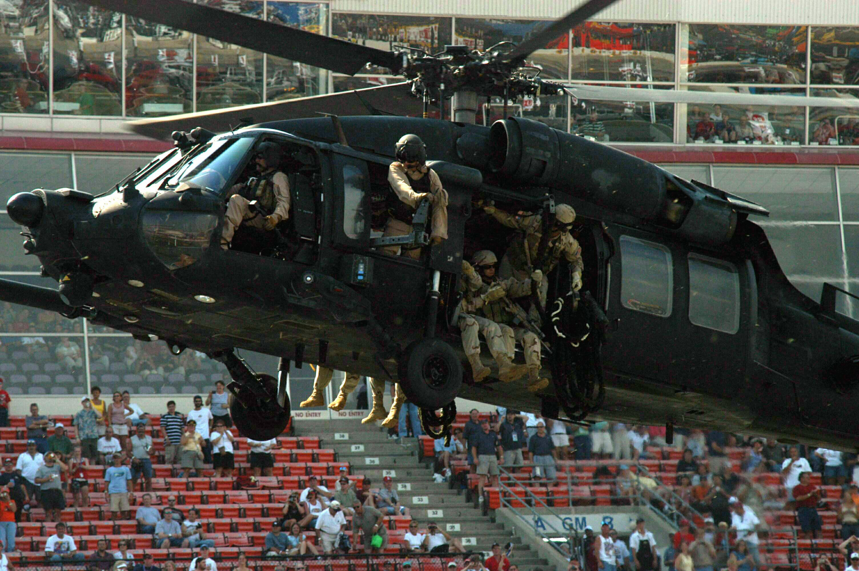 nightstalker helicopter with Mh 60k Special Forces on Brave Mission Earns Eight Night Stalkers The Distinguished Flying Cross likewise Toys furthermore Army Helicopter Hard Landing Kills Soldier In Georgia likewise BBI Elite MH6 Little Bird Night Stalker Helicopter 118 MIB furthermore Stealth Black Hawk.