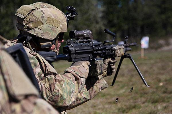 army ranger automatic rifleman