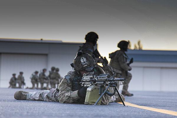 ranger regiment airfield seizure training