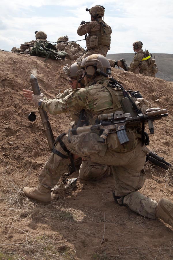 U S Army Heavy Mortar Platoon : Ranger mortar squad photos