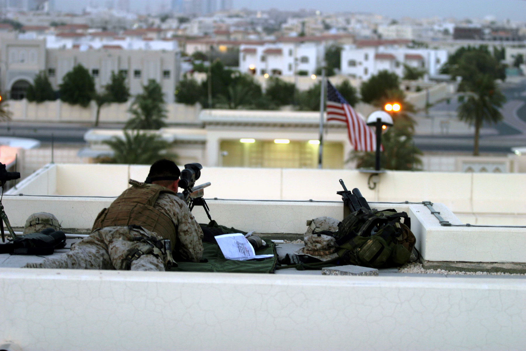 united states marine snipers