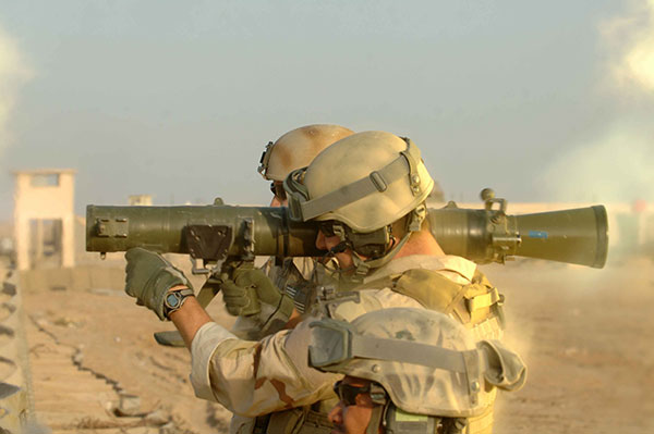 special forces - m3 carl gustav
