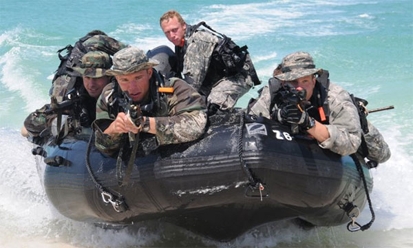 special forces dive team