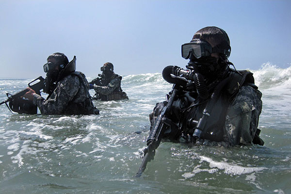 special forces divers