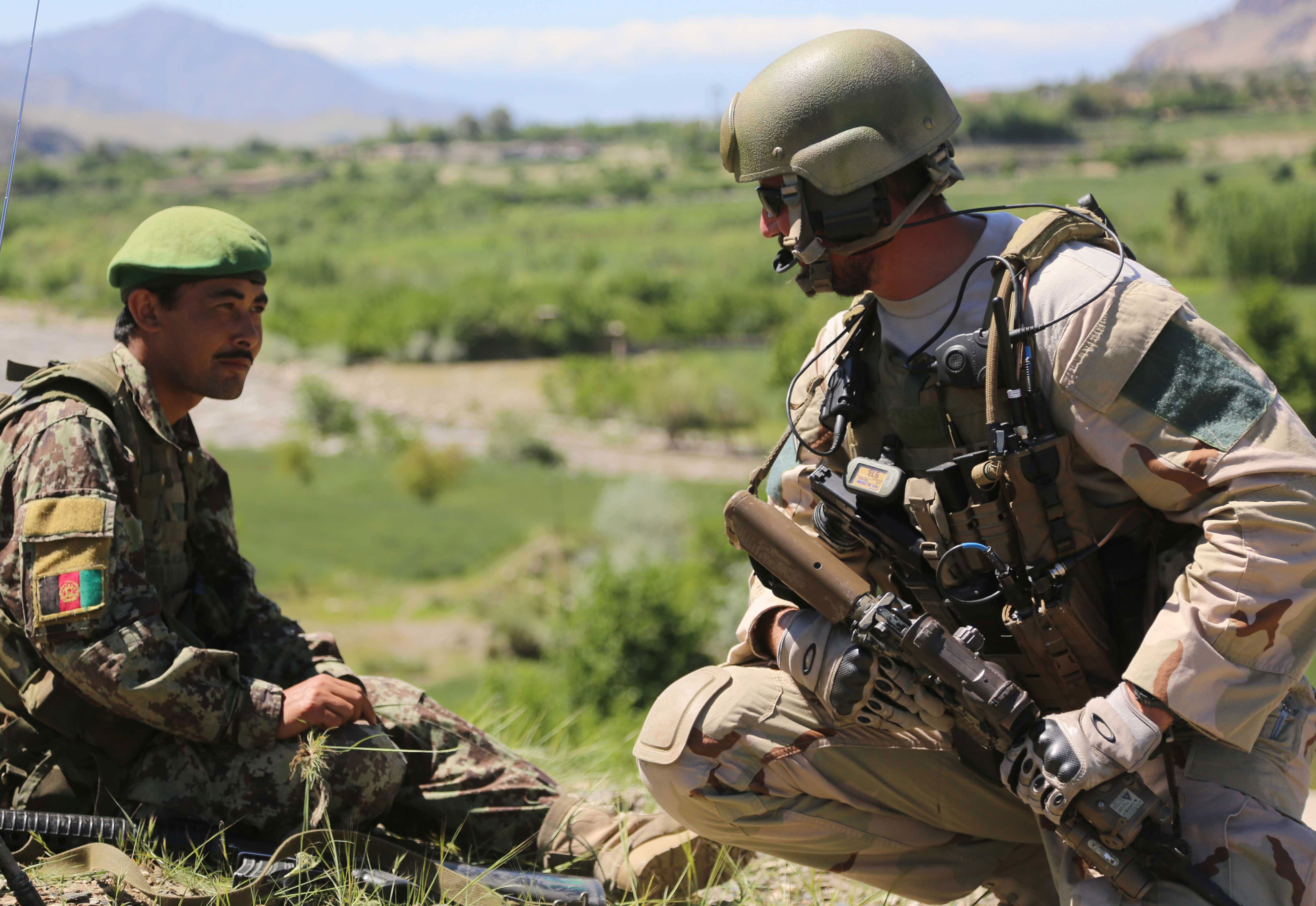 U.S. Special Forces Soldier - Afghanistan