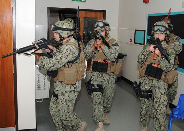 Navy SWAT Team