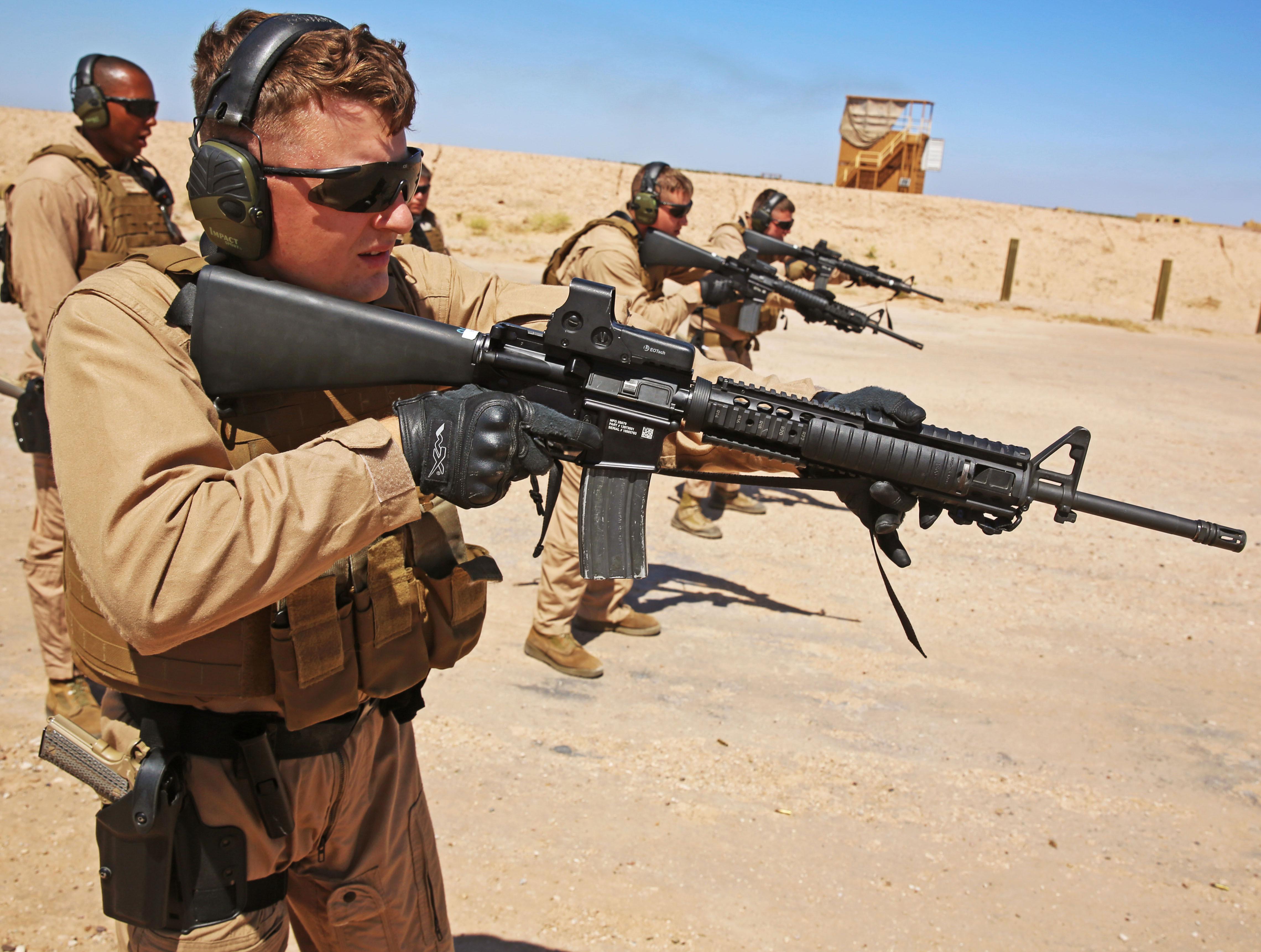 Photo : SRT M16A4