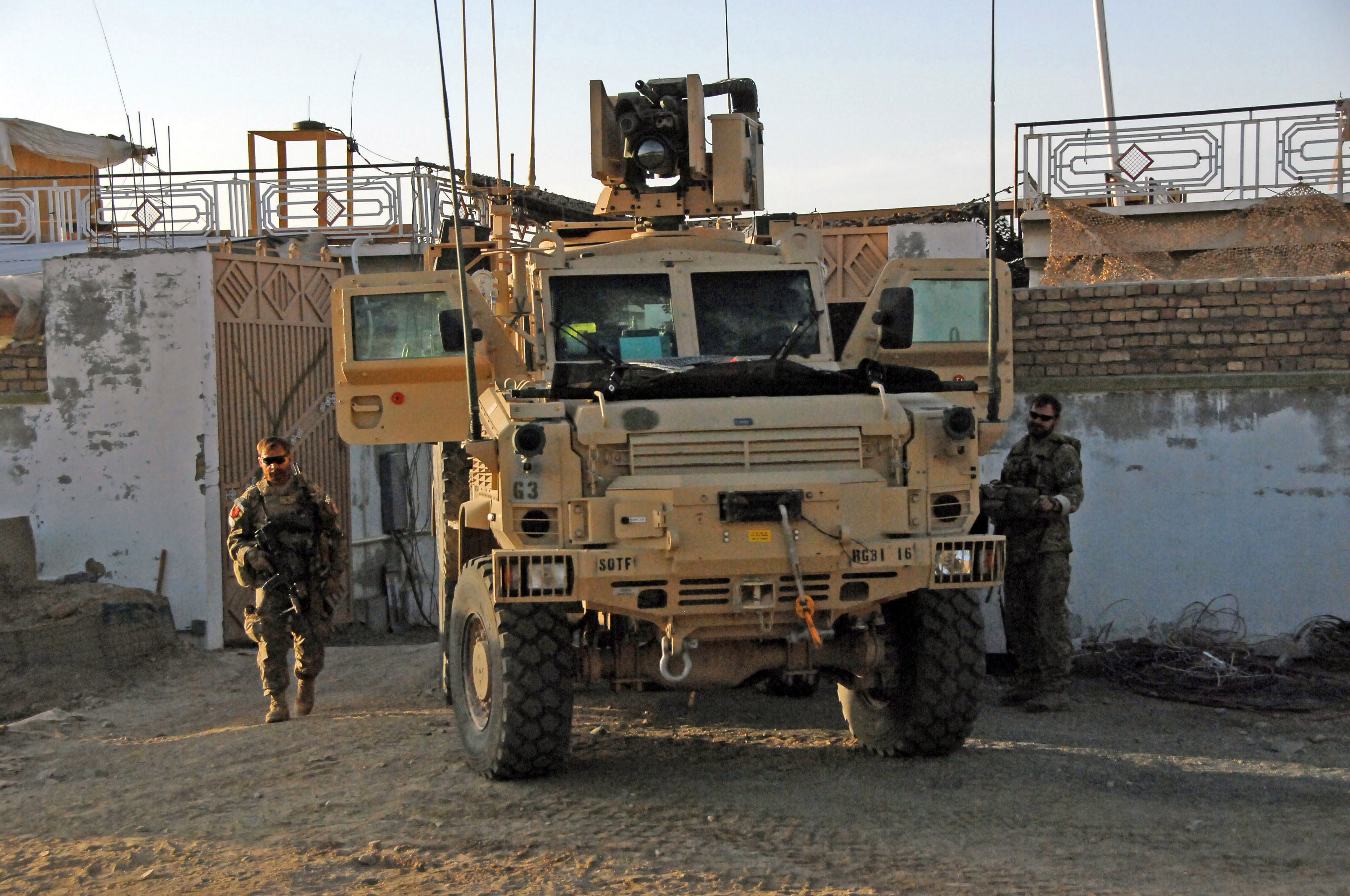 RG-31 MRAP - Special Ops Vehicles Photos