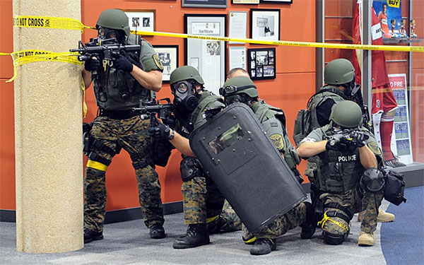image of SWAT team