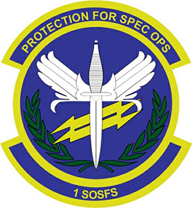 1st Special Operations Security Forces Squadron insignia