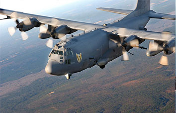Ac-130 gunship photo