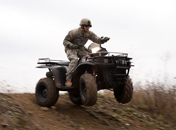Atv All Terrain Vehicle Special Operations Vehicles