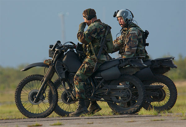Kawasaki Klr Military Motorcycle