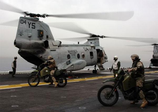 USMC motorcycles