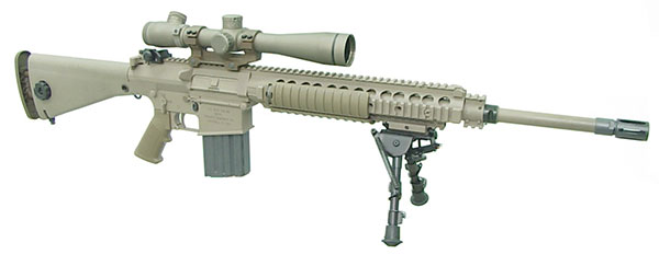 Sr-25 | US Special Operations | Weapons M110 Sniper Rifle Suppressed