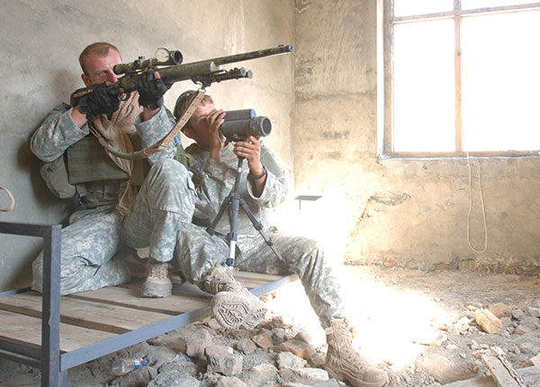 US Army Sniper - M24 SWS