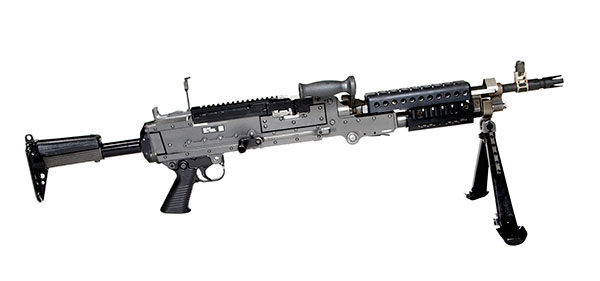 the m240b the weapon of the The platoon leader (through his weapons squad leader) employs his m240b machine guns with a rifle squad to provide long range, accurate, sustained fires against dismounted infantry, apertures in fortifications, buildings, and lightly-armored vehicles.