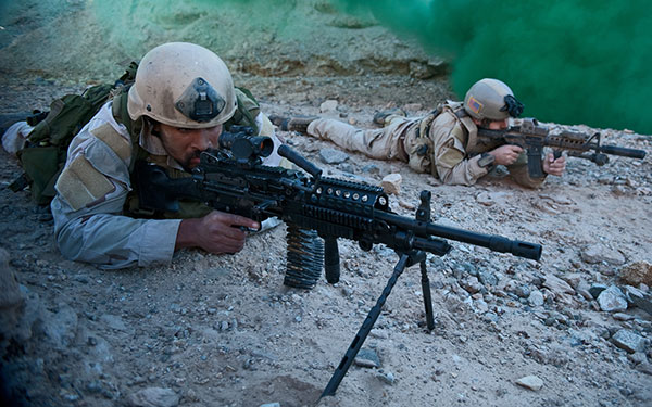 Mk 48 Machine Gun | US Special Operations | Weapons
