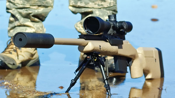 McMillan TAC-338 rifle